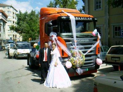 Оригинальный лимузин на свадьбу